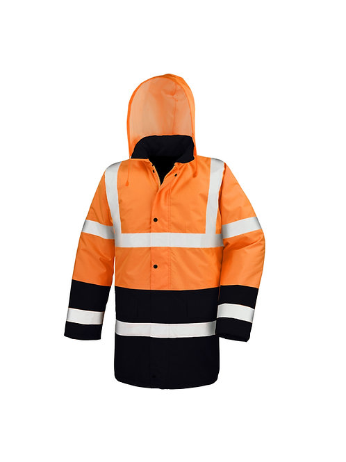 R452X Regatta Motorway two-tone safety coat