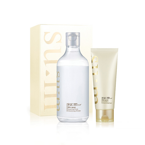 sum37 skin saver pure cleansing duo special set