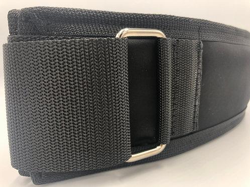 4 Inch Black Scuba Belt