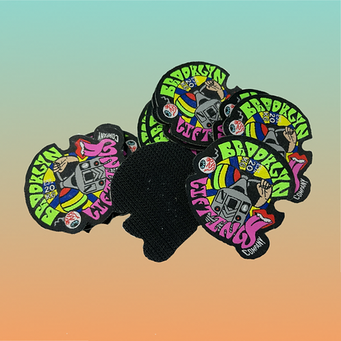 Psychedelic 70's Poster Velcro Patch