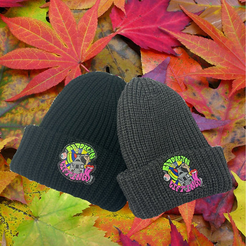 Psychedelic 70's Poster Beanie Cap