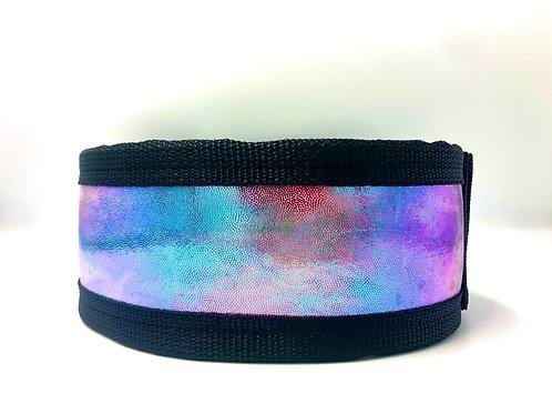 Iridescent Tie Dye Belt