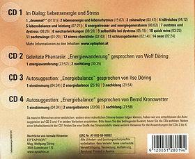 Lebensenergie und Stress Trackliste
