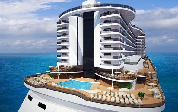 The innovative MSC Seaside