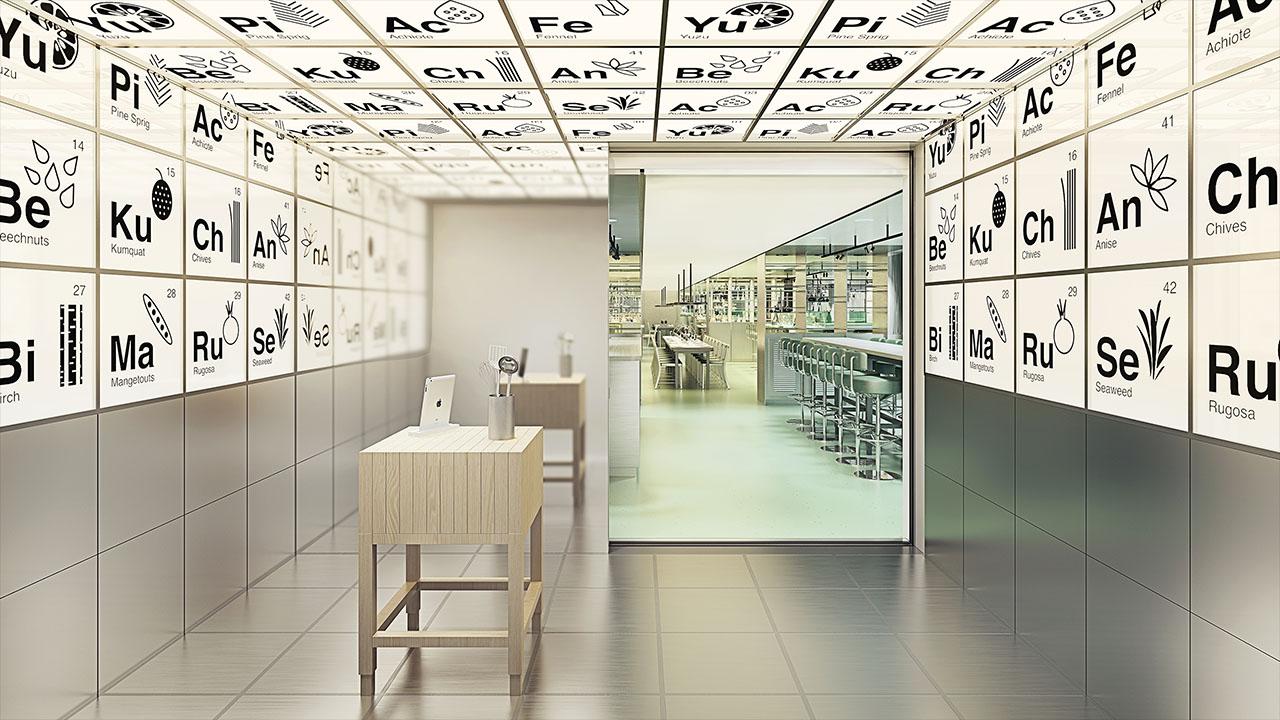 Test Kitchen Vestibule