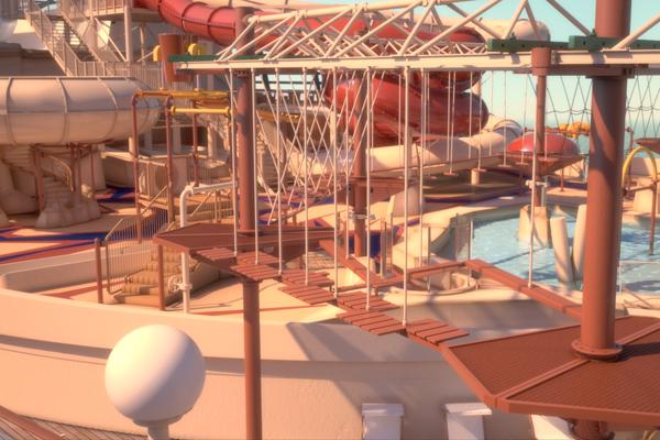 MSC Bellissima Arizona Aquapark