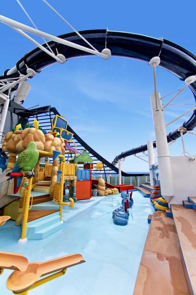 Waterparks on board...