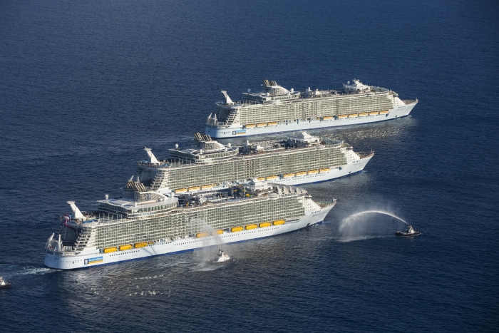 Royals Oasis Class Ships
