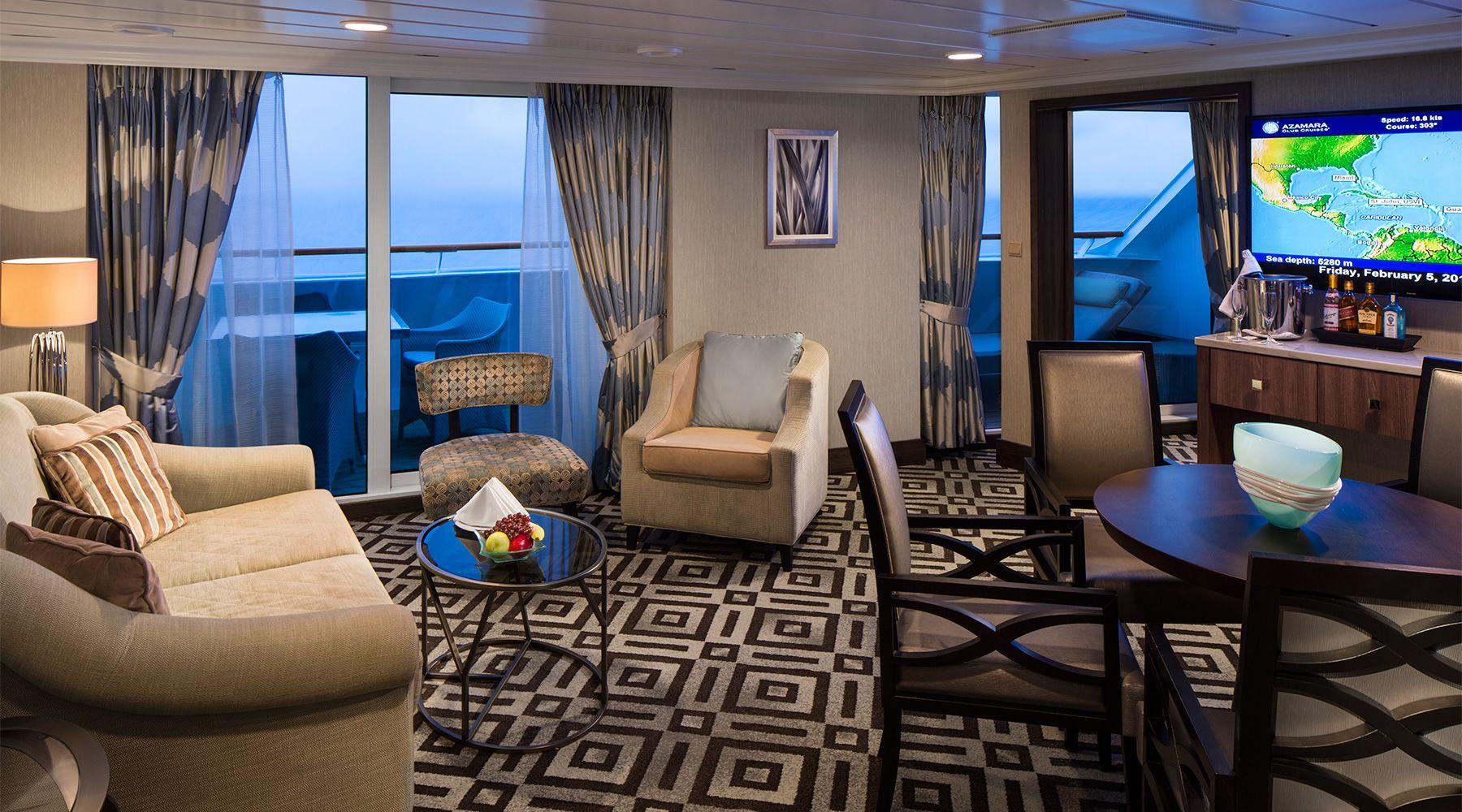 Azamara Club Ocean Suite