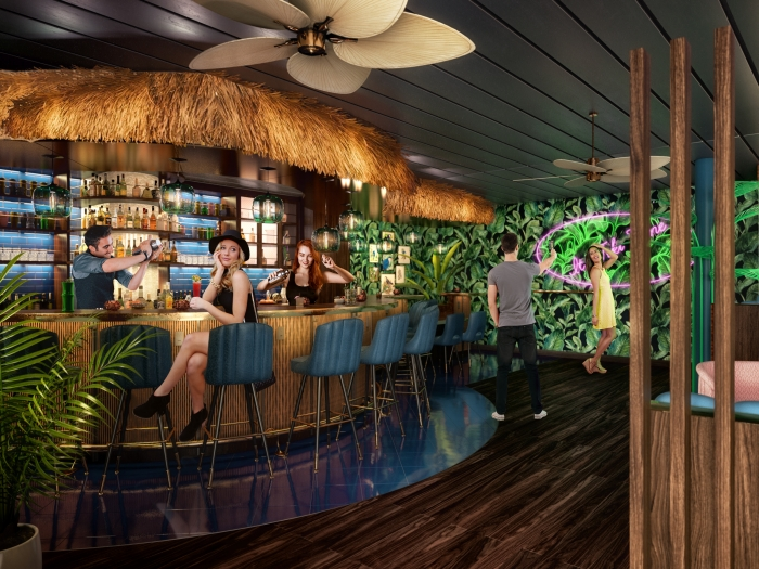 The Bamboo Room on Mariner of the Seas
