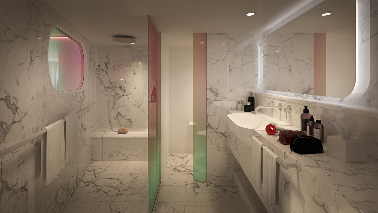 Posh Suite Bathroom