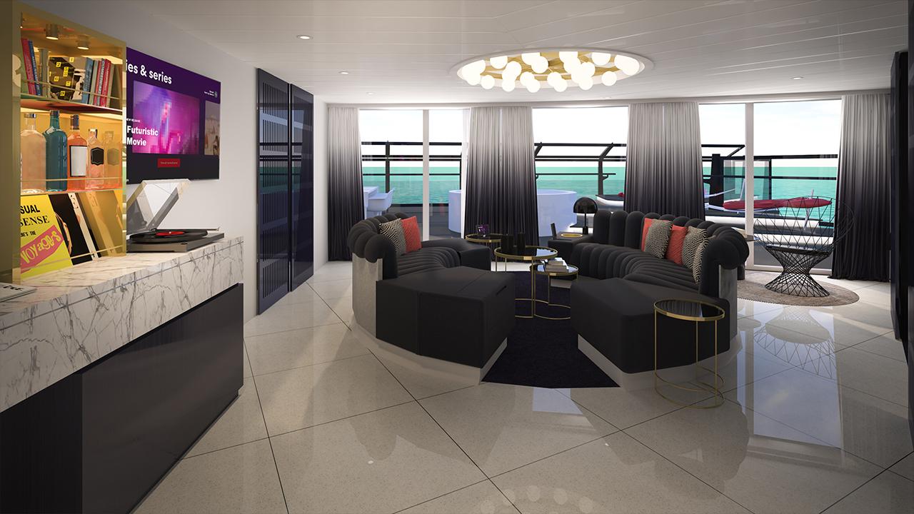 Massive Suite Living Room