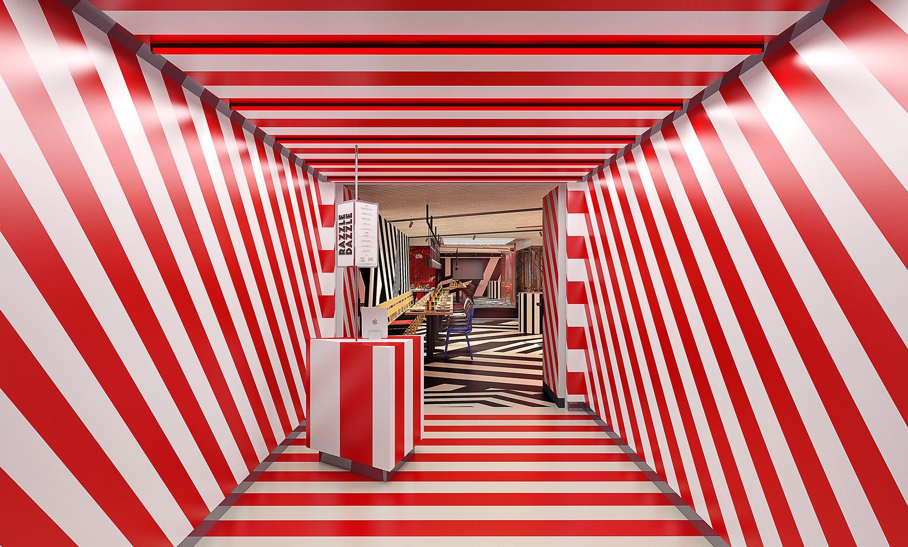 Razzle Dazzle Entrance