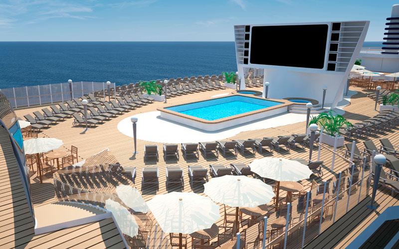 MSC Seaside Pool