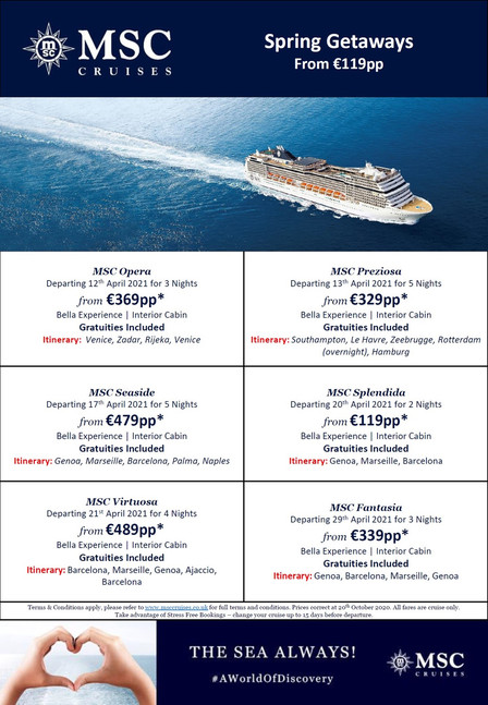 MSC Mini Cruises