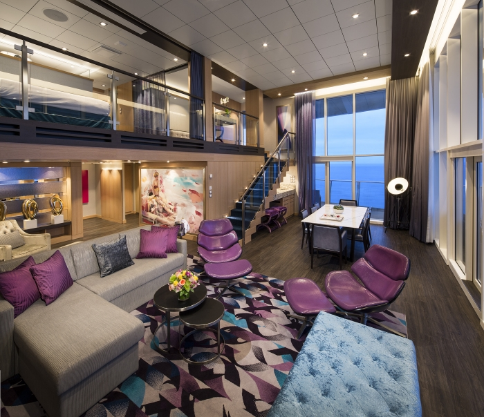 Royal Loft Suite on Harmony of the Seas