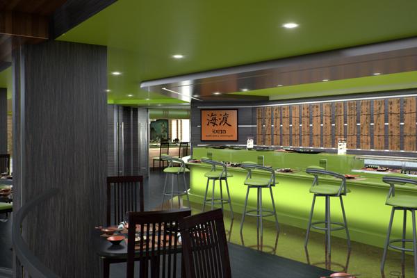 MSC Bellissima Kaito Sushi Bar