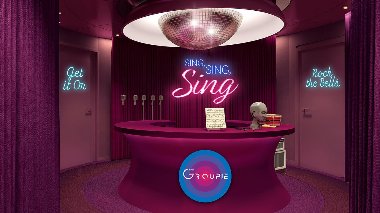 The Groupie Karaoke Lounge Sing Sing