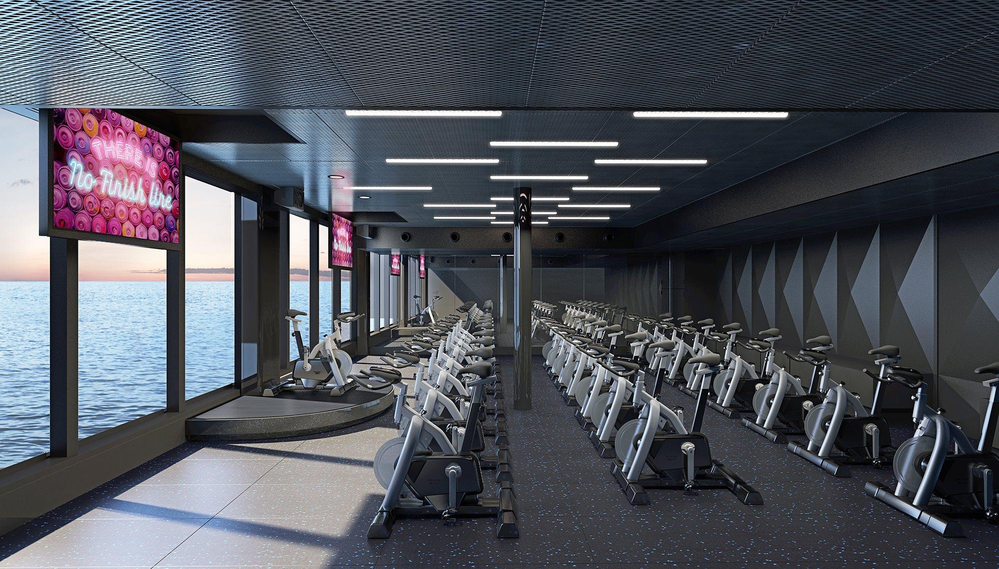 Virgin Voyages Gym
