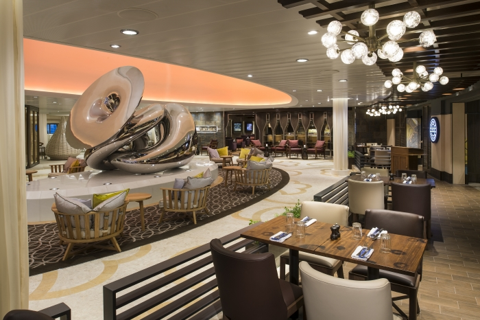 Seating area on Anthem of the Seas