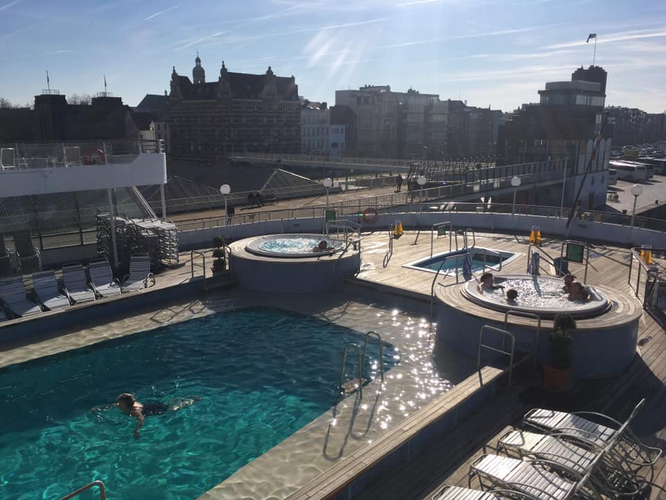 Pool Deck Boudicca in Antwerp