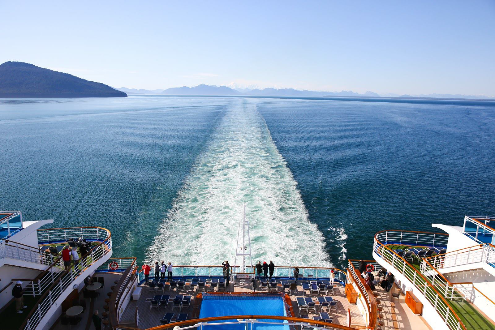 The View From The Back Of The Ship
