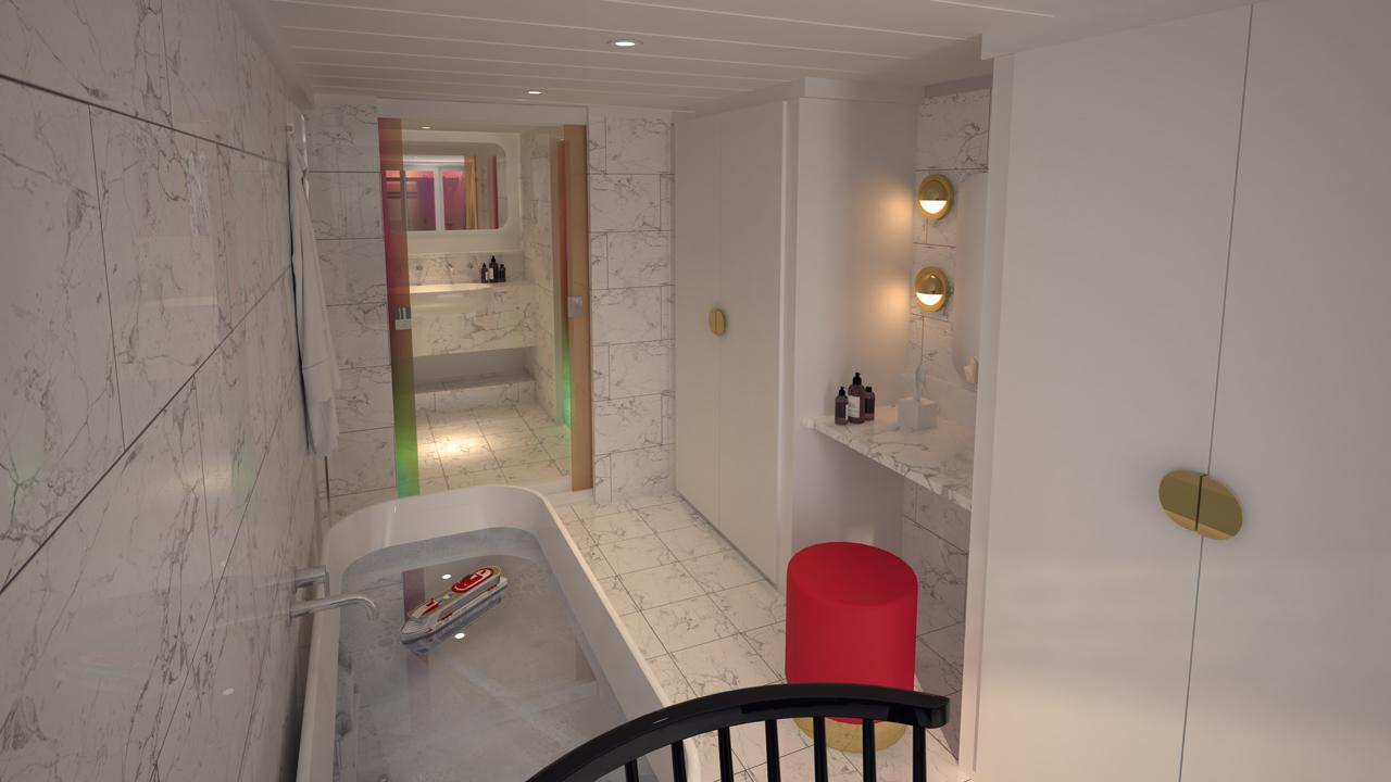 Massive Suite Bathroom