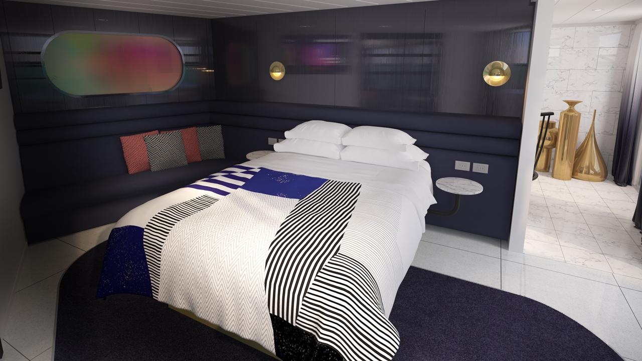 Massive Suite Bedroom Area