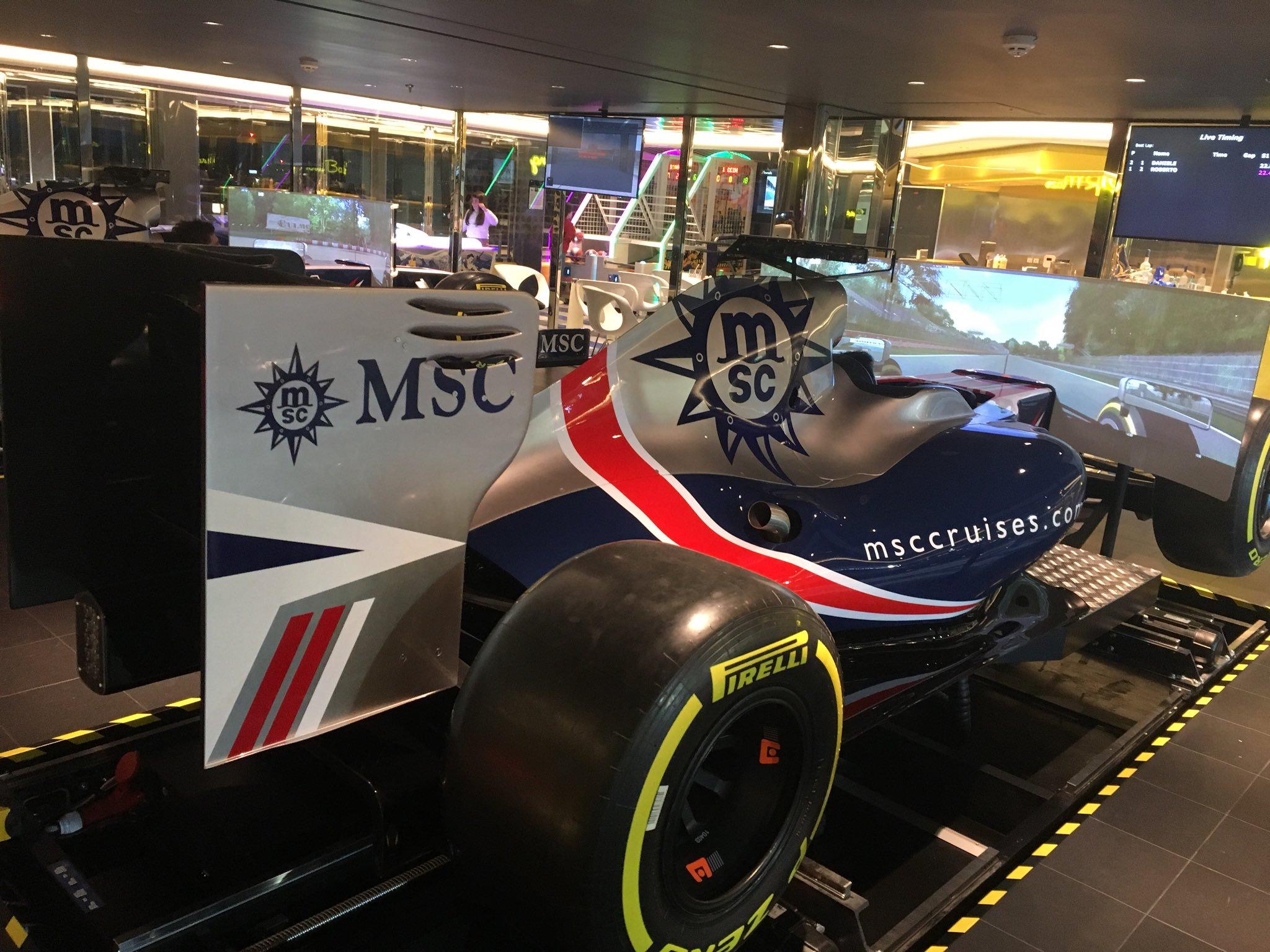 Bellissima F1 Simulator