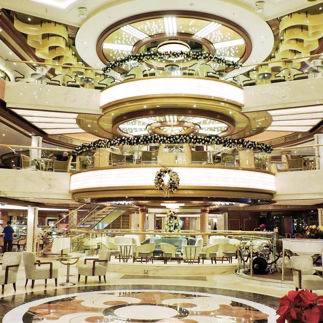 Impressive Three Deck Atrium