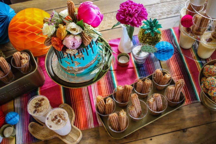Mexican Dessert Bar