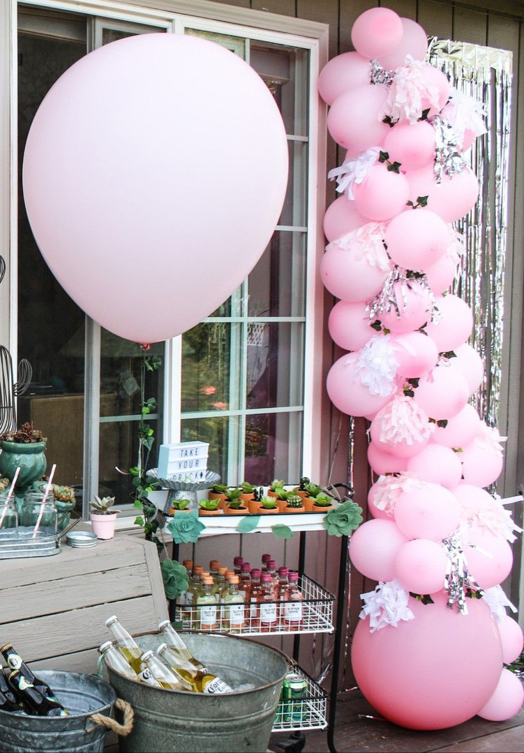 Pink Succulent Party