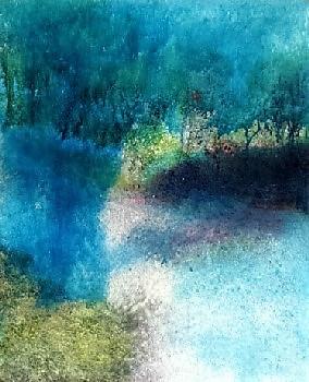 L'ombre sur le parc