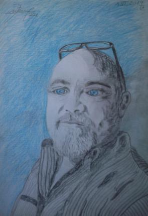 Autoportrait. Juin 2019