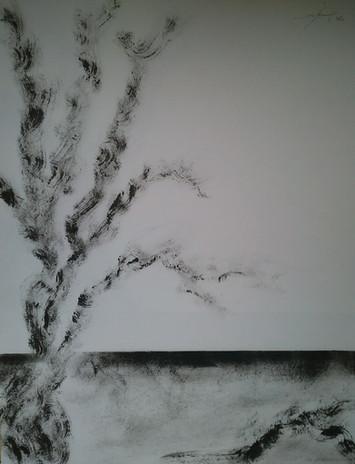Acryliques sur papier