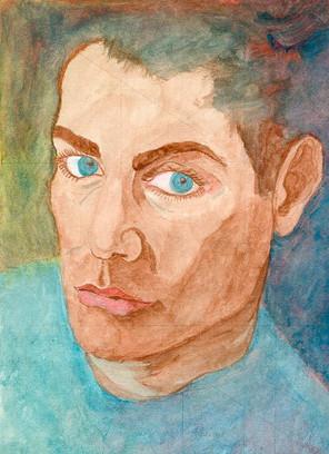 Sylvain Dhueme Autoportrait 1993