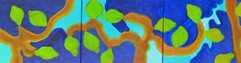 La joie de vivre (Citrons) Triptyque - 2016