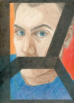 1993-11-03 Sylvain Dhueme Autoportrait