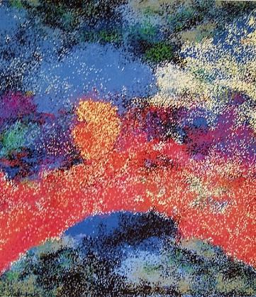 Hommages à Monet et Zao Wou Ki