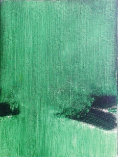 Rochers sur mer verte - 2016