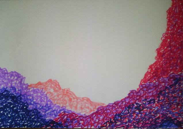 Sans titre. 29,5 x 42 cm