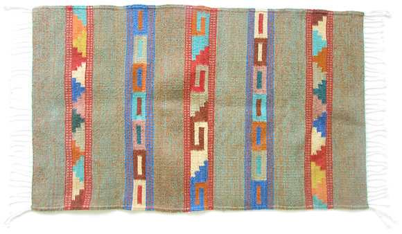 Colored Zapotec Rug
