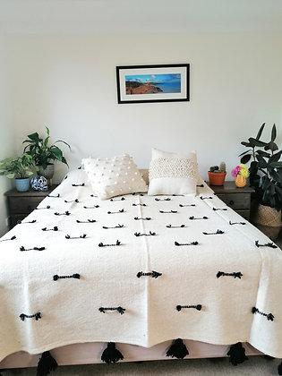 Black Worm Blanket