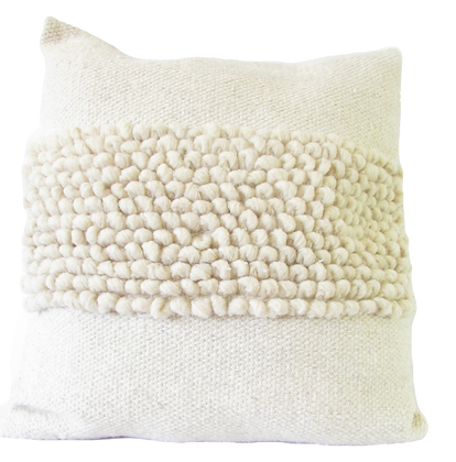 White patch Cushion