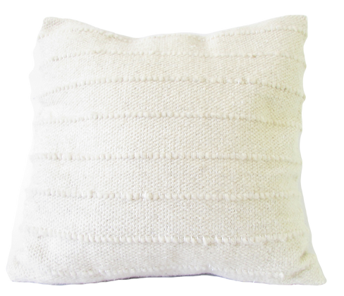 White Lines Cushion