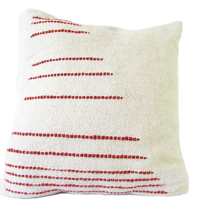 Red Line Cushion