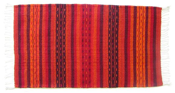 Red Pattern Rug