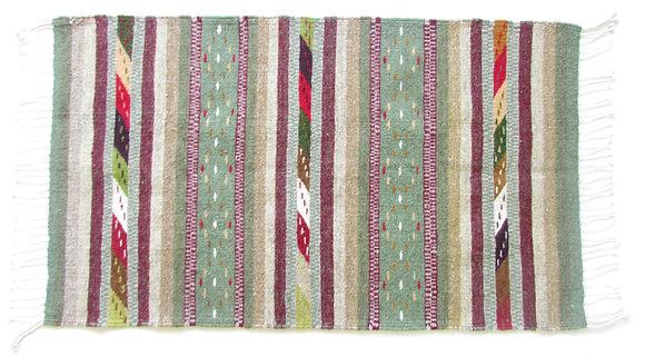 Green Zapotec Rug