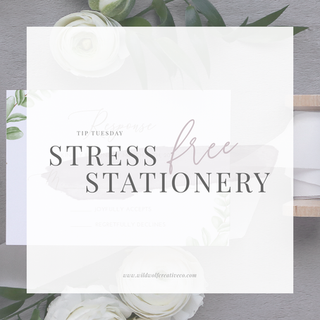 Stress-free Stationery