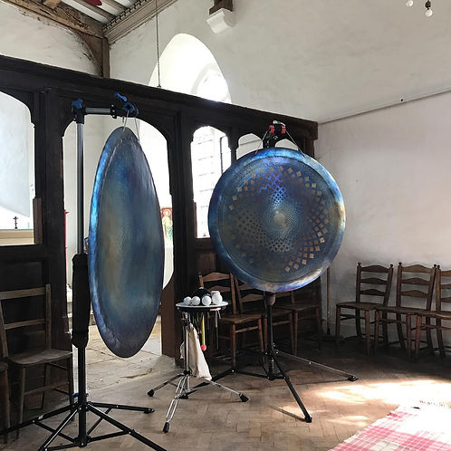Sound therapy gongs
